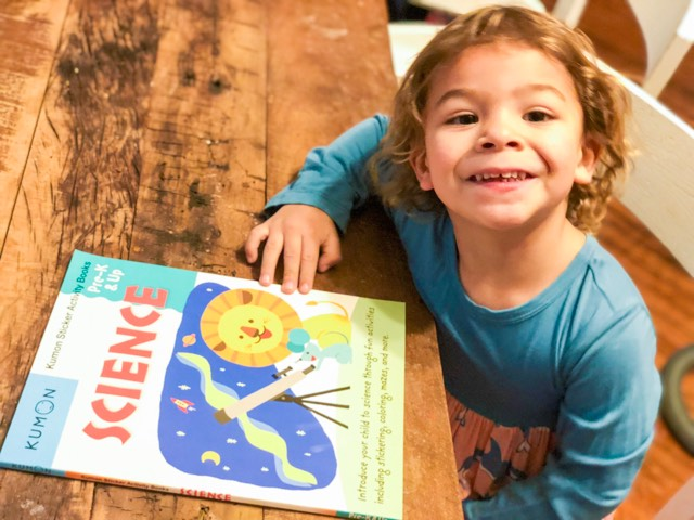 Kumon Science (Pre-K &Up)